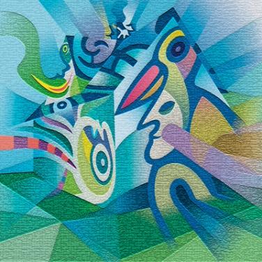 Cubistic Dwelling | Kubistische Unterkunft (2012)