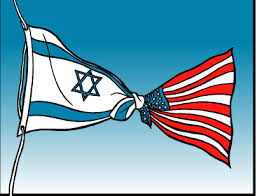 Flaggen USA israel