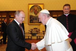 papst-franziskus-r-russlands-praesident-putin-l