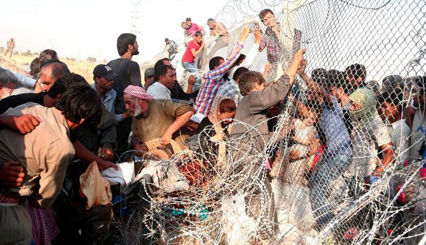 Kriegsflüchtlinge Syrien