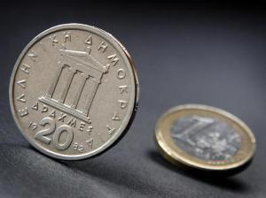 Drachme, euro