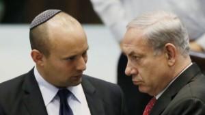 Israel Bennett und Netanyahu